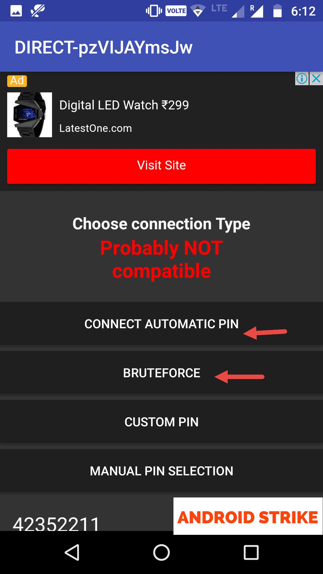 get wpa2 password