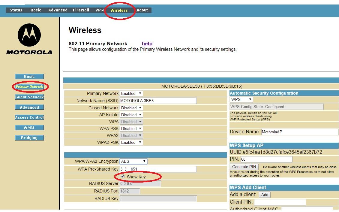 wpa2 password